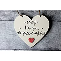 MadeAt94 Mums Like You Are Precious And Few Personalised Gifts Heart
