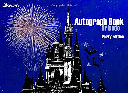 Brown's Autograph Book Orlando: Party Edition