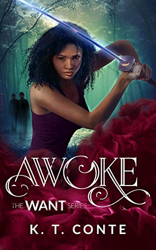 Awoke: The Want Series Kindle Edition by K. T. Conte  (Author), sunday snippet, book excerpt
