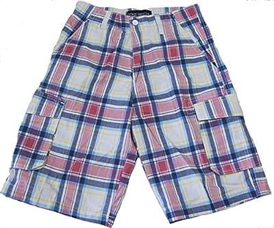 Herren Bermuda Shorts, karierte Freizeithose, kurze Hose, Cargo; Gr. M bis XXXL