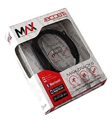 Max Fitness Boost Bracelet fitness Noir