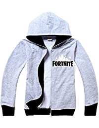 SERAPHY Unisex Fortnite Hoodies PS4 Gaming Top Sweaters Jumper Chaquetas de Manga Larga