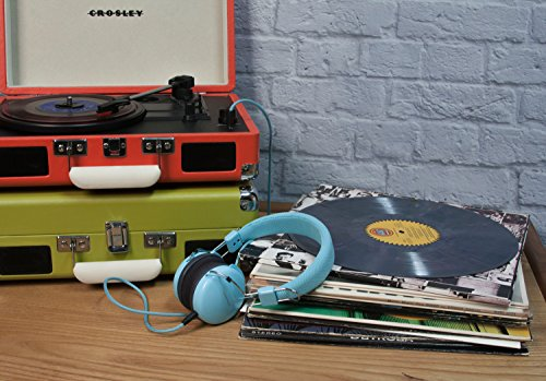 Crosley Cruiser - Tocadiscos, color turquesa