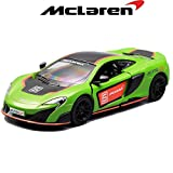 #8: Kinsmart - 1/36 McLaren 675LT (Exclusive Edition) (Green)