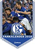 FC Schalke 04 Kalender 2018 - Fussballkalender 2018, Bannerkalender Schalke, Fankalender Schalke 2018, FC Schalke 04 2018 - 42 x 29,7 cm - teNeues