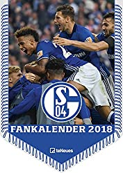 FC Schalke 04 Kalender 2018 - Fussballkalender 2018, Bannerkalender Schalke, Fankalender Schalke 2018, FC Schalke 04 2018 - 42 x 29,7 cm