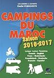 Campings du Maroc 2016-2017
