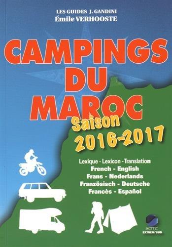 Campings du Maroc 2016-2017 par Verhooste Emile