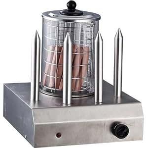 Syntrox germany macchina per hot dog con 4 spiedini for Cucinare hot dog