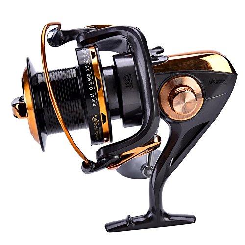 Carrete de Spinning 12 + 1BB Carretes de Pesca de Alta...