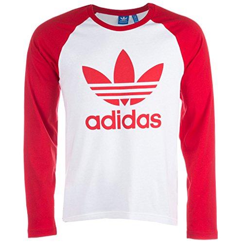 adidas Originals Herren Sweatshirt weiß/rot