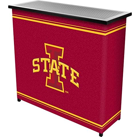Iowa State UniversityT 2 Shelf Portable Bar w/