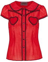 0c46b0146667 Suchergebnis auf Amazon.de für  Voodoo Vixen - Rot  Bekleidung