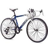 '24la bici bicicletta da corsa bicicletta KCP runny Alu con 14G SHIMANO Bianco...