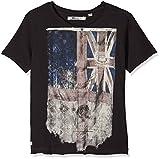 Deeluxe Flagy TS B, T-Shirt Garçon, Noir (Charcoal), 14 Ans (Taille Fabricant: 14)...