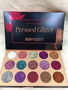 Professionnel 15 Couleur Smokey Ombre Fards à Paupières Glitter Shimmer Imperméable et Maquillage Eyeshadow Palette