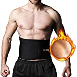 Bauchweggürtel Fitnessgürtel für Schnell & Einfach Abnehmen verstellbarer Sauna Bauchgürtel für Damen und Herren beim Sport Fitness Schwitzgürtel Hot Belt Slimmer Belt für Männer und Frauen