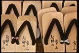 065165 Wooden Sandals Takayama Japan A4 Photo Poster Print 10x8