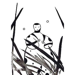 Olivier Cornil – Pensées du matin – Tuschezeichnung – 17 x 24 cm
