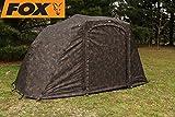 Fox Royale 2 man Euro Skin 300x280x170cm - Zeltüberwurf für Karpfenzelt, Überwurf für Angelzelt zum Karpfenangeln & Wallerangeln