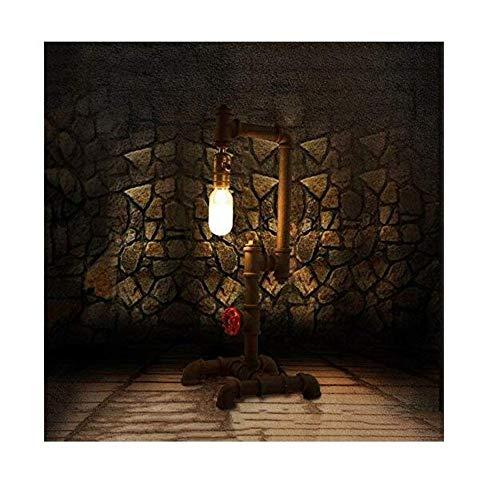 Antike Nautische Möbel (Vintage Kronleuchter Wandleuchte Edroom Nachttisch Schreibtischlampe Studie Retro Industrie Wind Tischlampe Möbel Persönlichkeit Kreative Wasserleitung Lampe)