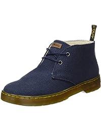 Mayport Black Chambray Twill, Desert Boots Homme, Noir (Black), 39 EUDr. Martens