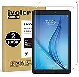 iVoler [2 Pack Vetro Temperato Compatibile con Samsung Galaxy Tab E/Tab E Nook 9.6 Pollici (SM-T560), Pellicola Protettiva, Protezione per Schermo