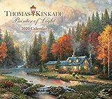 Thomas Kinkade Painter of Light Deluxe 2020 Calendar