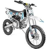 De tout nouveaux modèles de dirt enfant et ado, la série MX !Voici la Dirt Bike 140cc MX chaussée de grandes roues cross 17/14. Son moteur 4 temps de 140cc YX monté sur un solide châssis constituent moto cross parfaite pour évoluer sur terrain privé ...