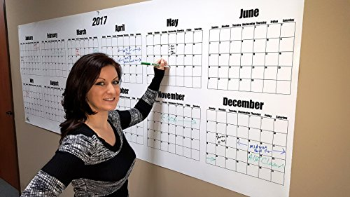 Dry Erase Wall Calendar- 2018 36