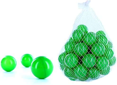 600 Balles balles pour salle de bain dans dans dans la couleur vert pour enfant, bébé ou aussi les animaux   Belle Et Charmante  fd0a47
