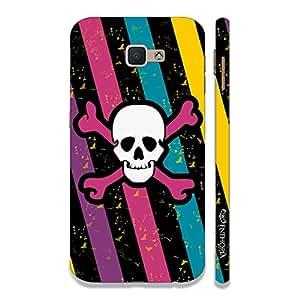 Enthopia Designer Hardshell Case Colourful Danger Back Cover for Samsung Galaxy J5 Prime