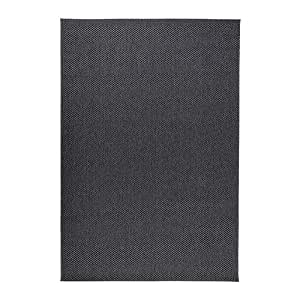 ikea morum tapis tiss plat gris fonc 200x300 cm cuisine maison. Black Bedroom Furniture Sets. Home Design Ideas