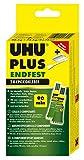 UHU 45720 - Plus Endfest, 2-Komponenten-Epoxidharzkleber, 163 g Inhalt