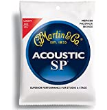 Martin SP 92/8 Acoustic Guitar Strings - Phosphor Bronze Wound (Light, .012 - .054)