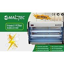 empasa lámpara maltec ik206matainsectos (30W)–eléctrica Trampa con luz profesional de sistema de protección contra insectos