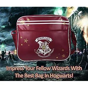 510V7qu9ZCL. SS300  - Bolsa Harry Potter Messenger Bolso Hogwarts Lleva Ordenador Portátil Gryffindor