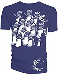 Doctor Who Dalek Army Space Mens Shirt