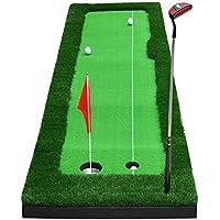 Jia He Tapetes de Golf Prodotto: tappeto da Golf Forma: irregolare Materiale: Gomma Dimensioni: 50 × 300 cm, 75 × 300 cm Peso Della stuoia: 7 kg / 8,5 kg Nota: si prega di conservare questo tappe