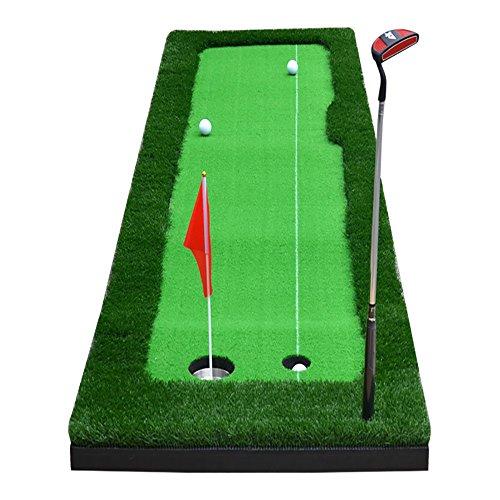 TLMY Golf-Indoor-Trainingsmatte Putting Praxis Matte 2 Größe Optional Golfmatten (größe : 50 * 300cm)