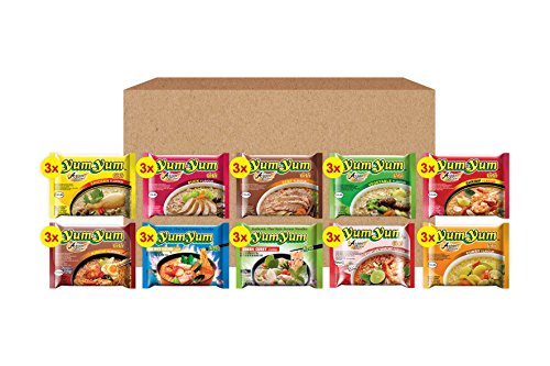 Yum Yum Mix Box Instant Noodles, 60/70 g, Pack of 30