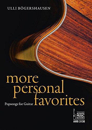 More Personal Favorites: Popsongs for Guitar. Noten und Tabulaturen