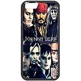Gory Funda iphone 7 Plus caso, Unique Design by Rock JOHNNY DEPP Sweeney Todd caso para Funda iphone 7 Plus {negro}