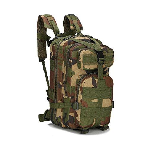 Taktische Schulter Outdoor Bergsteigen Tasche Military Camping Rucksack Outdoor Sport Rucksack jungle camouflage