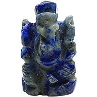 HARMONIZE Lord Ganesha Lapislazuli Stein Gemeißelte Statue Reiki Healing Steinfigürchen preisvergleich bei billige-tabletten.eu