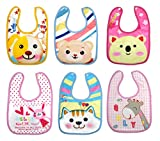 Tinny Tots Baby Bibs Apron Combo Pack Of 6
