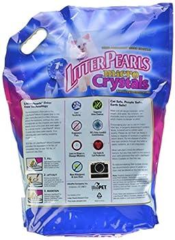 Litter Pearls Micro Cristal Gel de Silice Litière pour Chat 4,76 kg