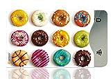 OPTEXX® 1x RFID Schutzhülle Donuts TÜV geprüft & zertifiziert für Kreditkarte | EC-Karte | Personal-Ausweis Hülle sicheres Blocking von Funk Chips