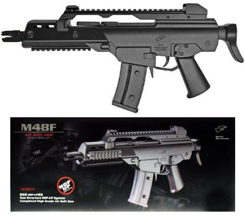 rsoft Spring/Federdruck Gewehr in Schwarz, UNTER 0.5 Joules, GRATIS 2000 BULLDOG BBS 0.20G ()