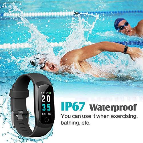 Zoom IMG-3 hetp fitness tracker orologio braccialetto